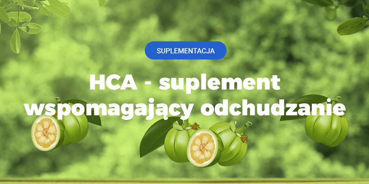 HCA uplement na zmniejszenie głodu i łaknienia